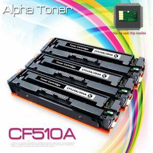 3PK-Black-Toner-For-HP-CF510A-204A-LaserJet-Pro-MFP-M181fw-M180nw-M154nw-Printer