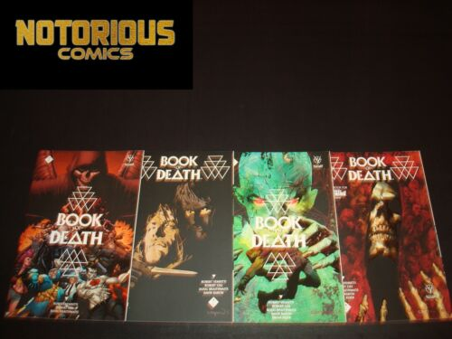 Book of Death 1-4 Complete Valiant Comic Lot Run Set Collection EXCELSIOR BIN