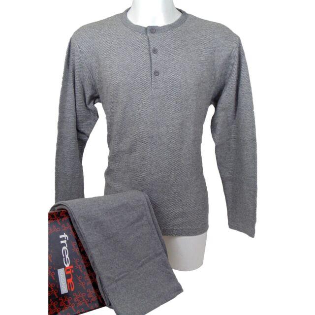 Uomo Serafino Cotone 135mf T Ragno Homewear 7 Pigiama Art n20111 Col W1Hn1