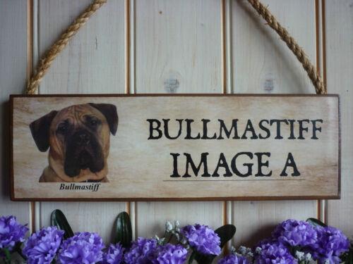 WARNING SIGN BULLMASTIFF SIGN WELCOME SIGN BULLMASTIFF GIFT OWN NAME YARD SIGNS