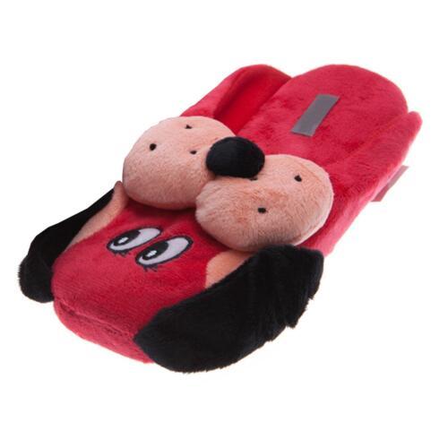 Plus drôle chien animal Chaussons Pantoufle Chaussons Pantoufles Enfants Rouge 36-42