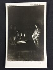 Vintage Postcard: Religious: #A77 : Honthorst: Christ  : National Gallery