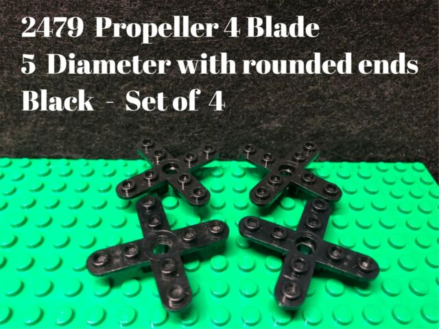 1 x Lego 87751 Propeller 7 Blade 6 Diameter Flat silver