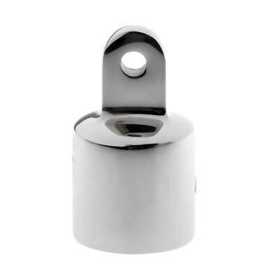 4x Marine Boat Eye End Cap Bimini Top Fitting Hardware 25mm Stainless Steel