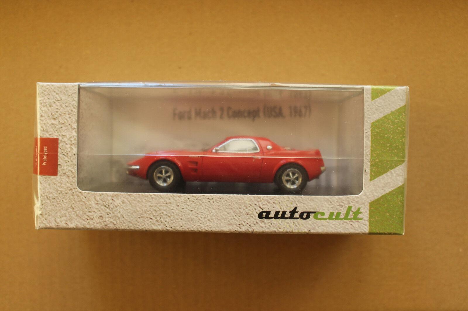 Autocult 1 43  06014 ford mach 2 concept von 1967