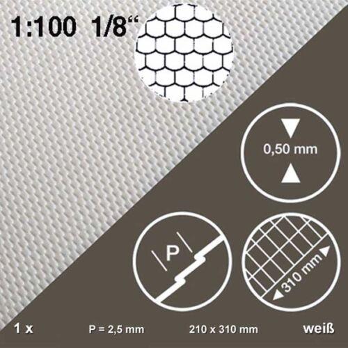 Biberschwanzplatte 1:100 Dachziegel weiß 210 x 310 x 0,5 mm 175,88€//m²