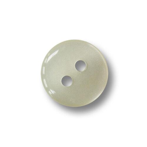 10 robuste nacre blanche chemisiers plastique boutons forme de comprimés 2600we
