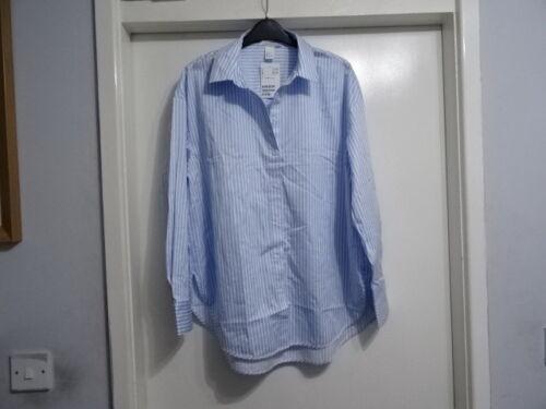 Beautiful Light Blue Cotton shirt  By H/&M £17.99