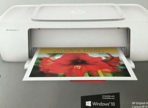color-standard Printer-USB-work for windows 10 NEW HP Deskjet 1112 3632