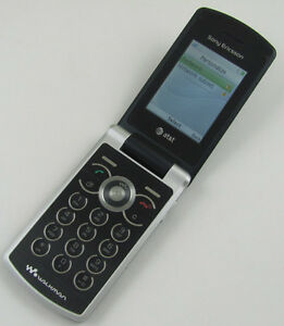 sony ericsson w518 at t cell phone ebay rh ebay com Sony Ericsson Flip Phone Sony Ericsson Walkman AT&T