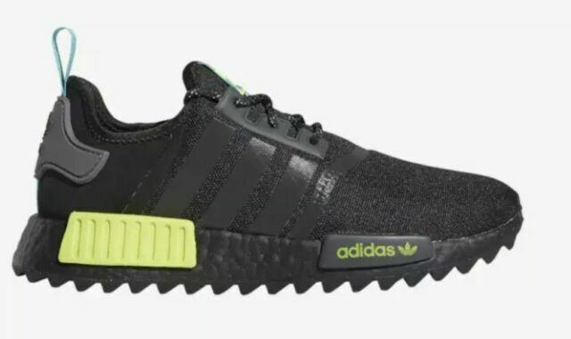Size 10 - adidas NMD R1 Trail Black Solar Yellow 2020