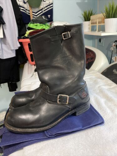 harley-davidson motorcycle boots Size 12 Leather