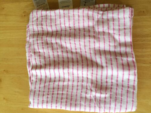 New Zutano by Aden and Anais Swaddle Muslin Cotton Blankets Pink Baby Girls