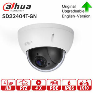 Details about Dahua PTZ 1080p 4x Optical zoom DOME 4 0Mp SD22404T-GN IP  CCTV CAMERA