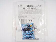 4 Kanal Lauflicht für Glühlampen bis 100W 230V Thyristoransteuerung KemoB097 #7F