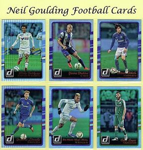 DONRUSS-Soccer-2016-2017-SILVER-PARALLEL-Football-Cards-101-to-200