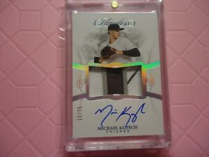 2019-FLAWLESS-3-COLOR-SICK-PATCH-ON-CARD-AUTO-MICHAEL-KOPECH-CHICAGO-WHITE-SOX-R