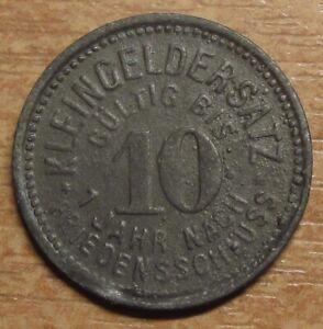 Germany-Notgeld-Token-Schmolln-10-pfennig-1918