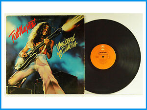 Ted Nugent Weekend Warriors Record Epic Fe 35551 Ebay
