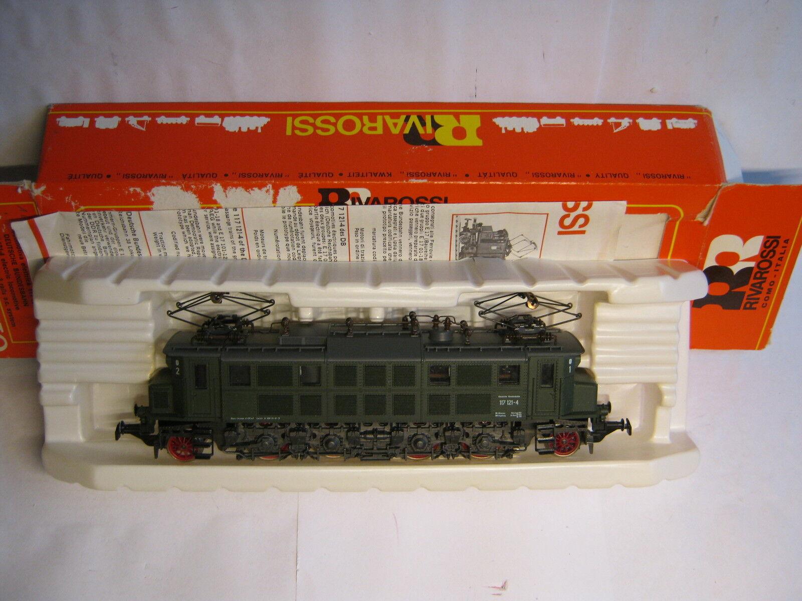 Rivarossi Rivarossi Rivarossi HO 1094 E Lokomotive BR 117 121-4 DB grün (RG RN 003-59S2 1)  | Shopping Online  df8080