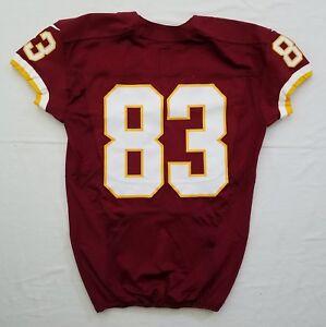 #83 No Name of Washington Redskins NFL Locker Room Game Issued Jersey