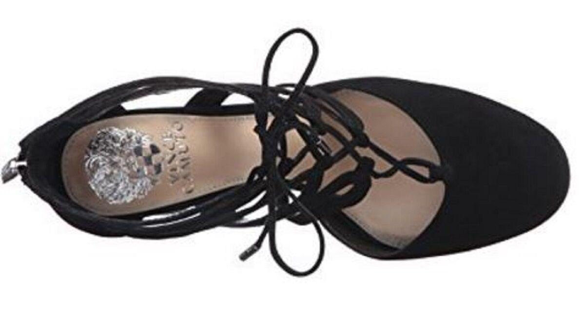 Para mujeres Zapatos Zapatos Zapatos Vince Camuto shavona Vestido Zapatos De Gamuza Negro 8dfe3a