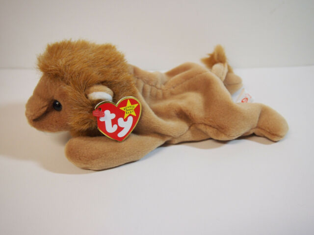 f51c9994357  Roary  the Lion - Ty Beanie Baby NEW OLD STOCK RETIRED RORY ROREY