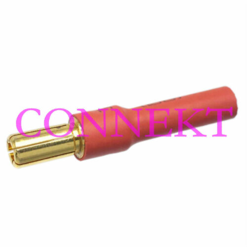 1pce 5.5MM Male to 4MM 4.0MM Female Bullet No wire connector For ESC//Motor
