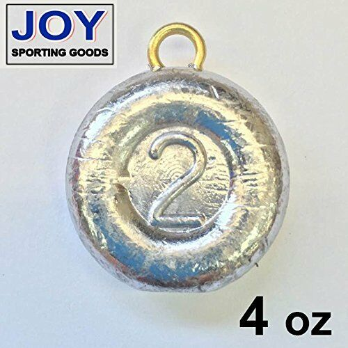 Lead River 4 oz Fishing Sinker Weight