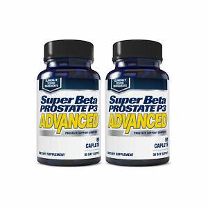 Super-Beta-Prostate-P3-Advanced-2-Bottles-120-Caplets-NEW-FREE-Shipping