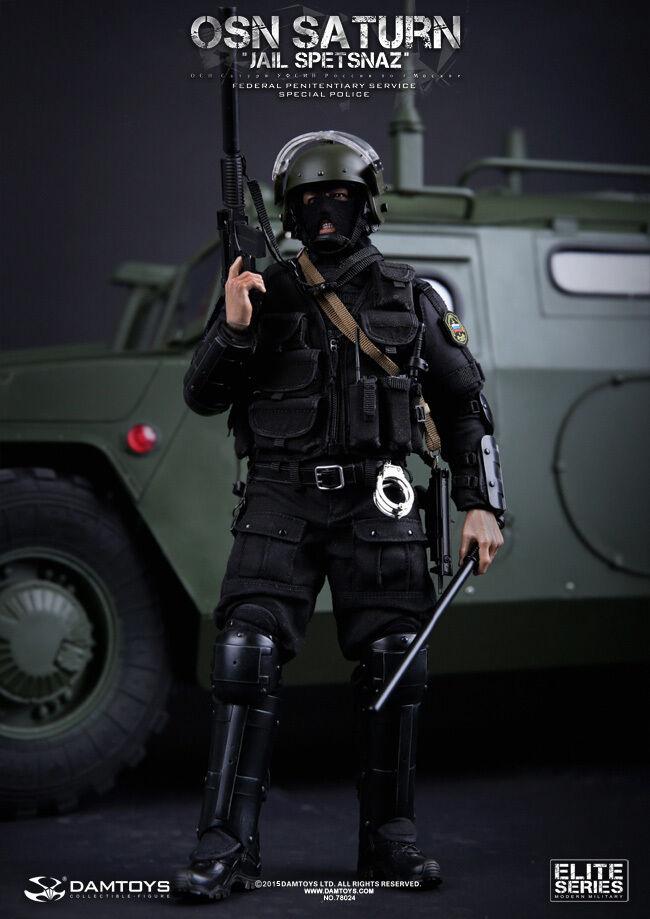 1 6 Damgiocattoli DAM 78024 Russian  OSN Saturn Jail Spetsnaz FSIN specialeee polizia  prezzi eccellenti