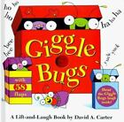 Giggle Bugs : A Lift-and-Laugh Book by David A. Carter (1999, Hardcover)