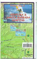 Ventura & Santa Barbara Surfing Map Waterproof Surfing Guide By Franko Maps