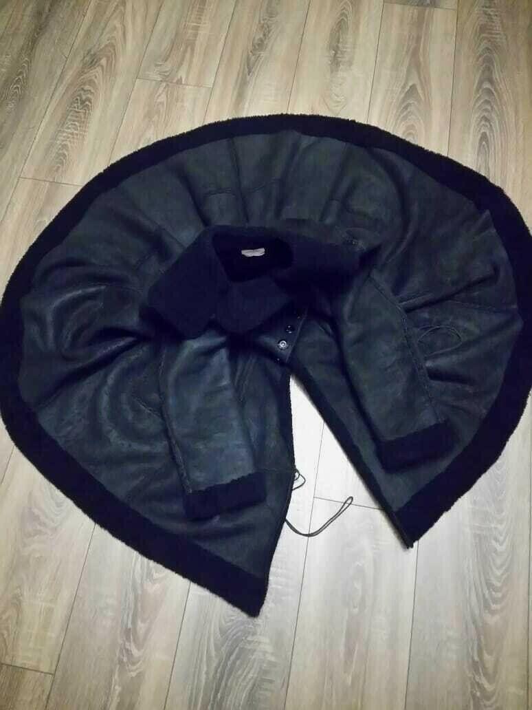 Alaia black  suede-Leather Shearling Princess Ple… - image 2