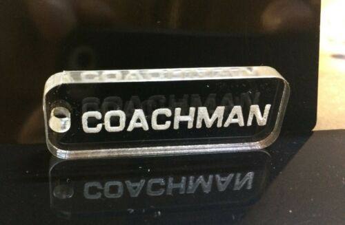 COACHMAN Caravan Keyring in Acrylic