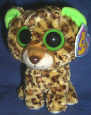 W-F-L TY Beanie  Speckles Boos 15 cm  Leopard  Boo´s Glubschi Wildkatze