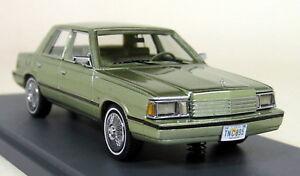 Neo 1/43 Scale - 44895 Dodge Aries K-car 1983, maquette de modèle en résine métallisée verte 874250448956