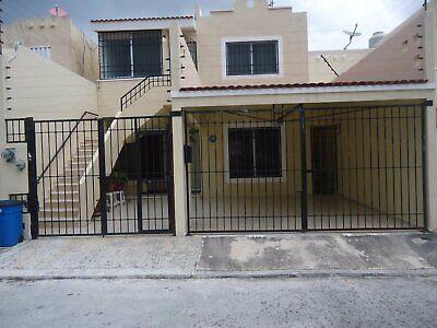 Se Renta Casa Duplex en Cancun Amueblada Planta Baja 2 recamaras Gran Santa Fe Plus II