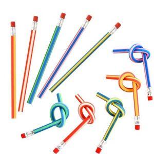25-Stuecke-Weiche-Flexible-Bendy-stift-Magische-Biegung-Spielzeug-Schule-Stat-IS