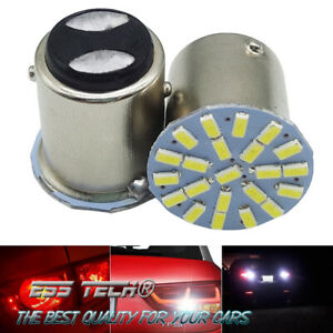 Ampoule-BAY15D-1157-feux-de-recule-et-Stop-frein-2-Pcs-lampe-a-led-22-SMD-Blanc
