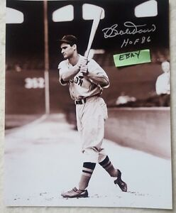 Autographed Bobby Doerr HOF 8 by 10  Photo