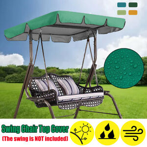 Swing-Chair-Top-Cover-Replacement-Canopy-Porch-Park-Patio-Outdoor-Garden