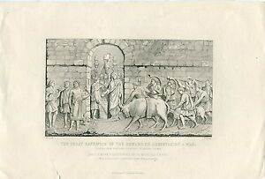 The-Great-Sacrifice-Of-The-Romans-On-Undertaking-To-War-Engraving-By-R-Young