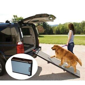 Pet Gear Tri-Fold Large Small Dog Pet SUV Car Ramp Capacity up to 200 lbs.