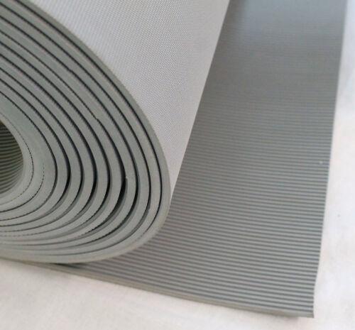 Isoliermatte 1200x200mm 4,5mm grau VDE 0303 50.000 Volt Gummimatte RoHS Reach