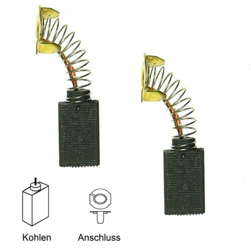 Kohlebürsten Motorkohlen FERM Kreissäge FZT-250 FZT250E Ersatz GÜNSTIG 102