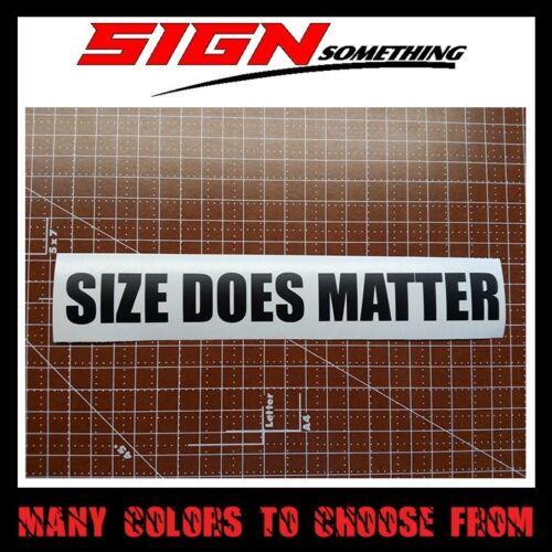 Decal ratchet hoonigan illest hood Size Does Matter Sticker Vinyl