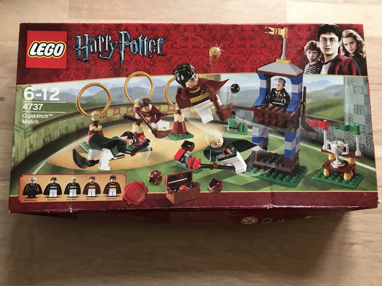 Lego 4737 Harry Potter Quidditch Match Boxed Sealed Brand New