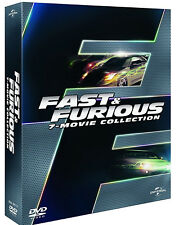 FAST AND FURIOUS - COFANETTO 7 FILM (7 DVD) EDIZIONE ITALIANA
