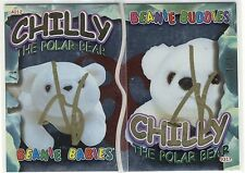 TY Beanie Baby Cards S2E4 Gold Signed / Autographed Matched Chilly Pair